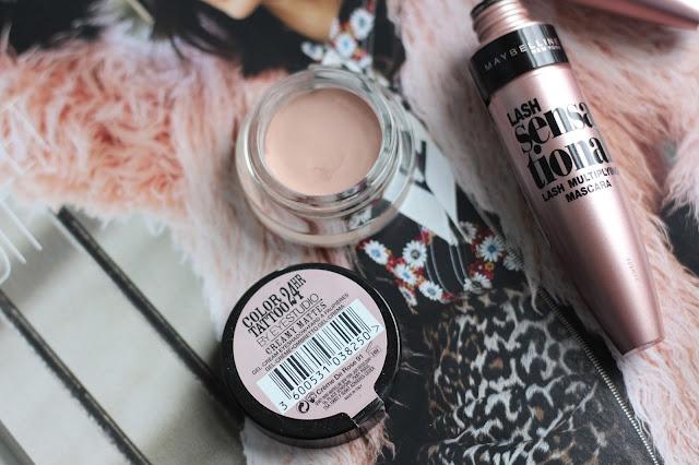 Maybelline Lash Sensational Mascara and Colour Tattoo Creme De Rose