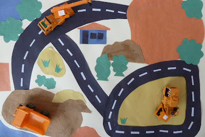 How to make a construction play mat for children