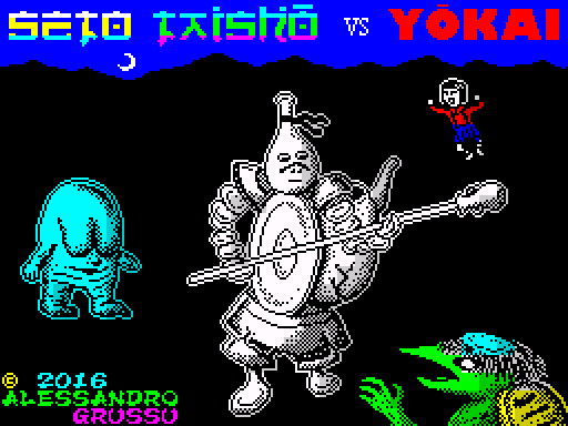Ya disponible para ZX Spectrum el arcade SETO TAISHO VS YOKAI