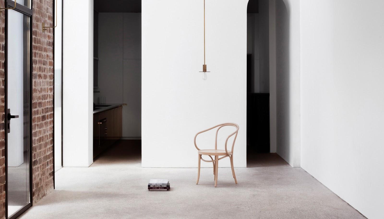 Casa minimalista in stile italiano tra storico e moderno for Casa minimalista blog