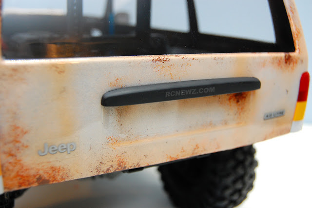 Traxxas TRX-4 paint weathering