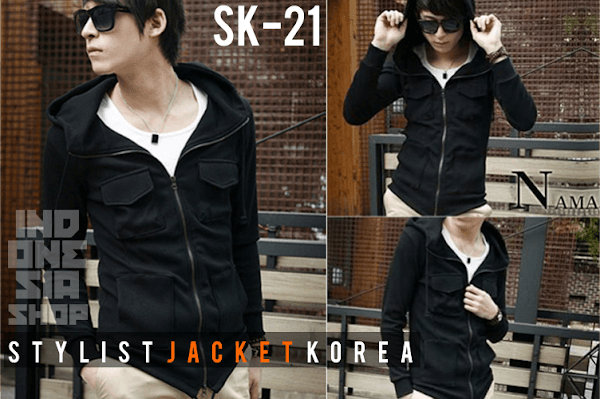 indonesia shop | ina sk21 korean hooded jacket style