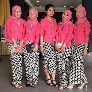 kebaya kutu baru hijab wisuda