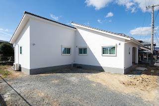 平屋の家 三重県鈴鹿市 完成写真 自然素材の家 木の家 工務店みのや