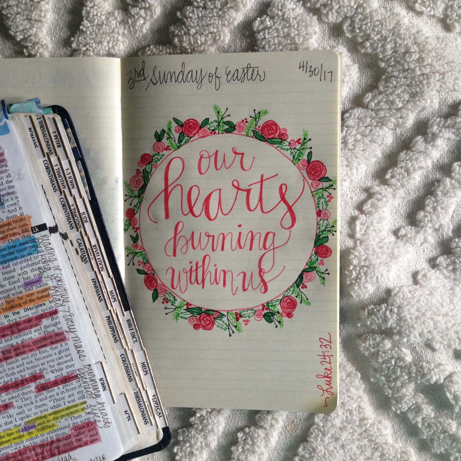 Look To Him And Be Radiant Sunday Readings Scripture Doodle Year Two