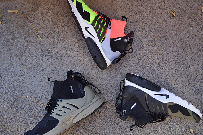 best loved d48de 21d6a ... ACRONYM x Nike Air Presto Collection