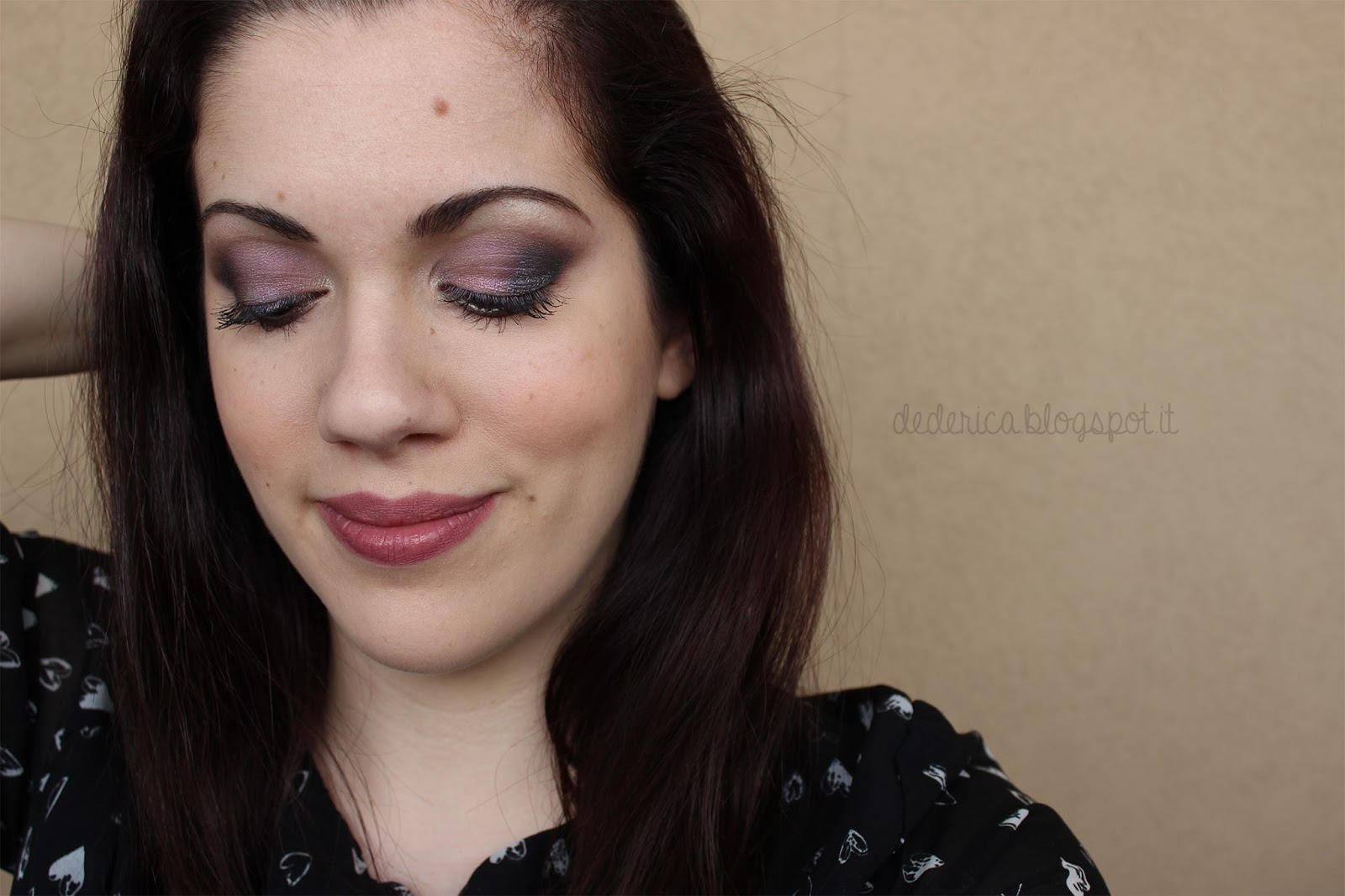 Duochrome Lavender Make-up Tutorial 4