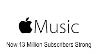 Apple Music 13 Million Subscribers image