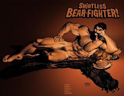 Shirtless Bear-Fighter - Burt Beariant Cover