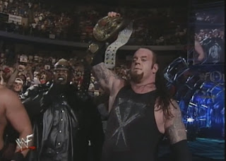 WWE / WWF Over the Edge 1999 - The Undertaker won the WWF title for a third time