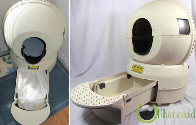 Litter Robot (Robot yang Bikin Santai)