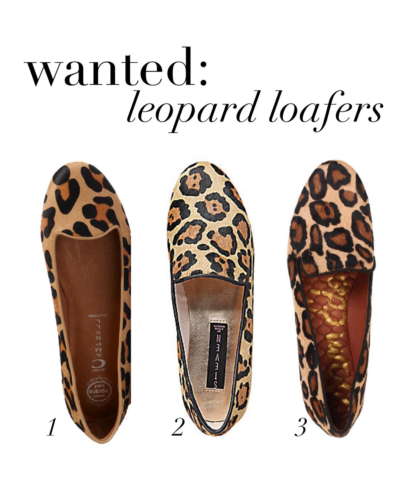 08757f027 1. Jeffrey Campbell  Mention  Flat 2. Mandee Leopard by Steve Madden 3. Sam  Edelman Alvin Leopard