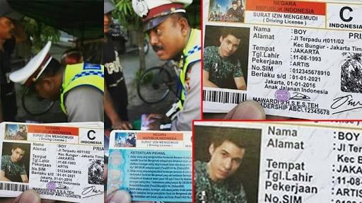 PARAH!!! Sehabis Wafat, Boy Anak Jalanan Kena Tilang di Makassar