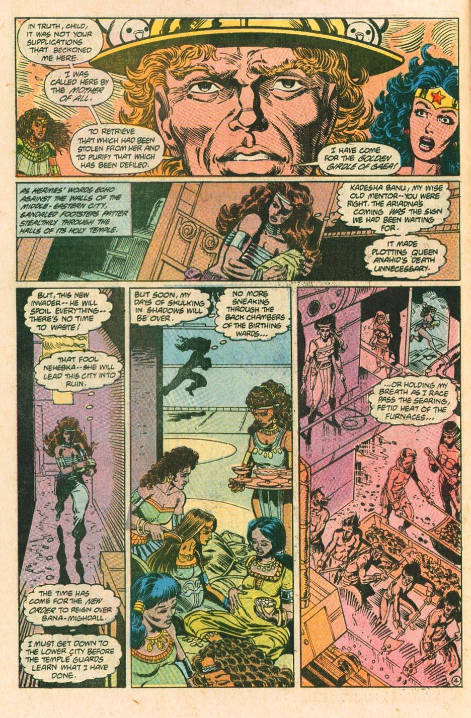Read online Wonder Woman (1987) comic -  Issue #34 - 5