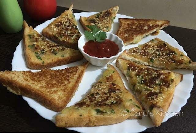 crispy potato toast recipe | potato sandwich recipe | easy and quick tea time snacks