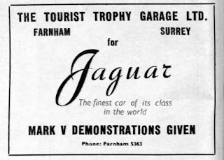Tourist Trophy Garage, Farnham - Jaguar MarkV