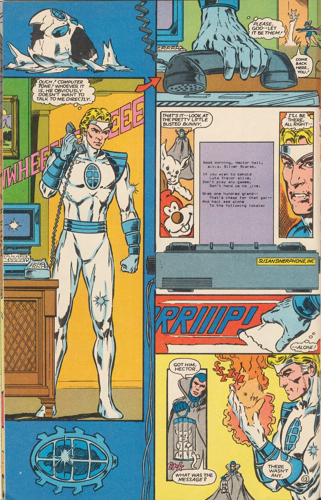 Infinity Inc. (1984) issue 17 - Page 17