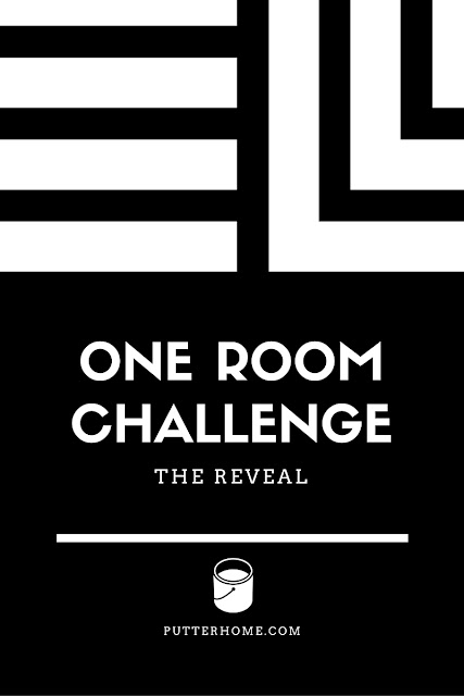 Family Room Makeover - Finale - 2016 One Room Challenge   Putter Home