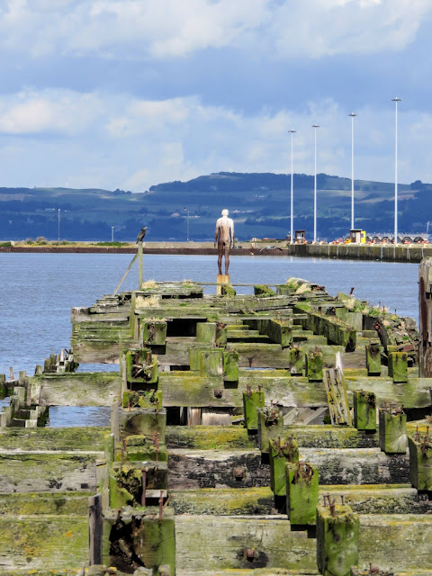 Summer in Edinburgh: Take the bus to Leith and admire the sculpture in the port