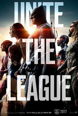 "Justice League ""Unite the League"" Teaser Theatrical One Sheet Movie Poster"