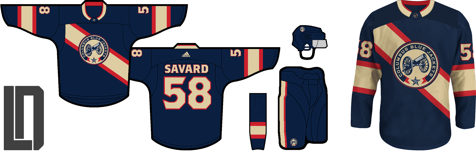 NHL Adidas Alternates (Series completed!) - Concepts - Chris ... 61a8b8136