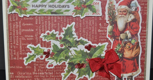 Simple Stories - VIntage Christmas Card Class