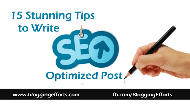 onpage seo tips about writing SEO friendly post