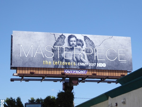 Leftovers season 3 Masterpiece Emmy billboard
