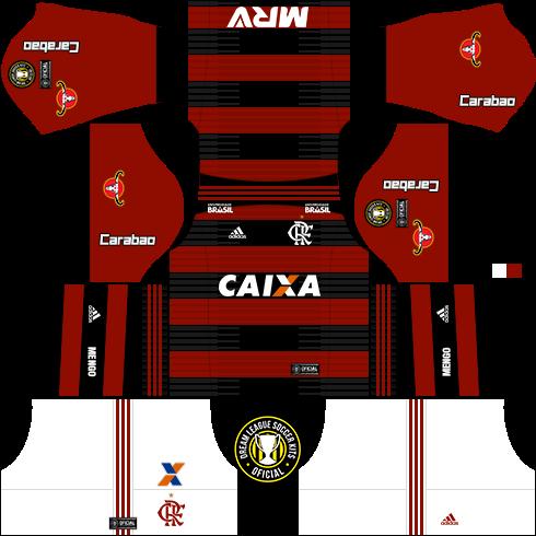 Dream League Soccer Kits  Flamengo (Titular) 18 19 - DLS18   FTS ... 68ed0bf4f88e2