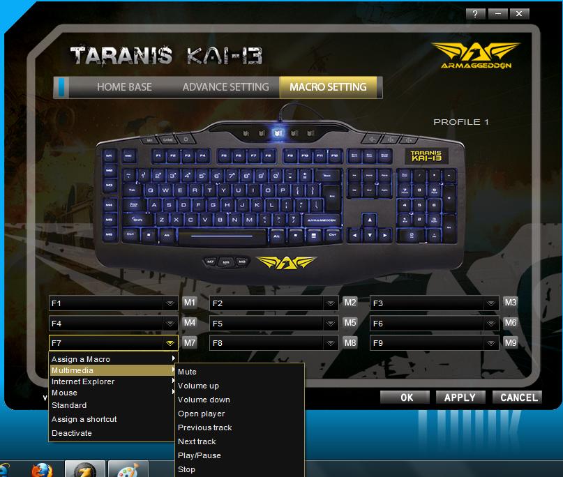 Unboxing & Review: Armaggeddon Taranis Kai-13 Gaming Keyboard 71