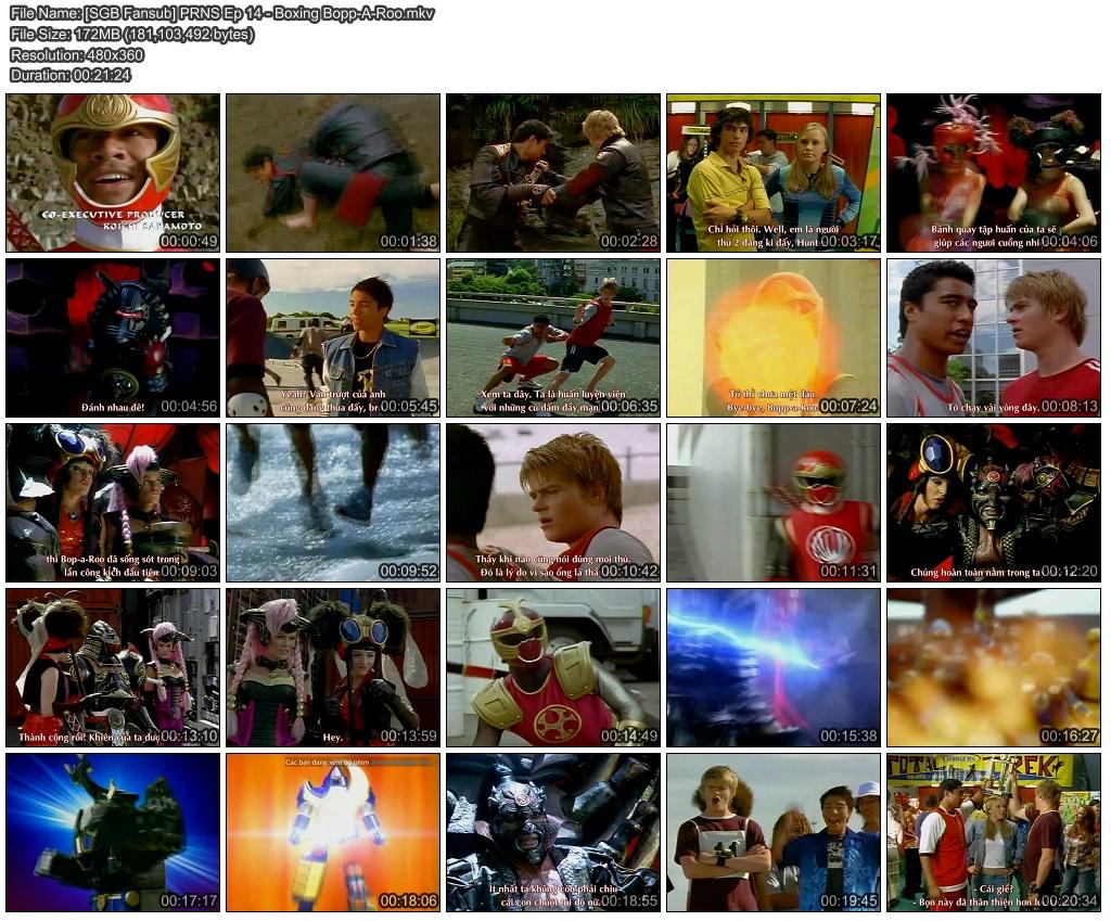 Vietsub] Power Rangers Ninja Storm Episode 14 | Super Gay