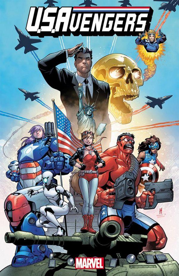 Обкладинка U.S.Avengers 01