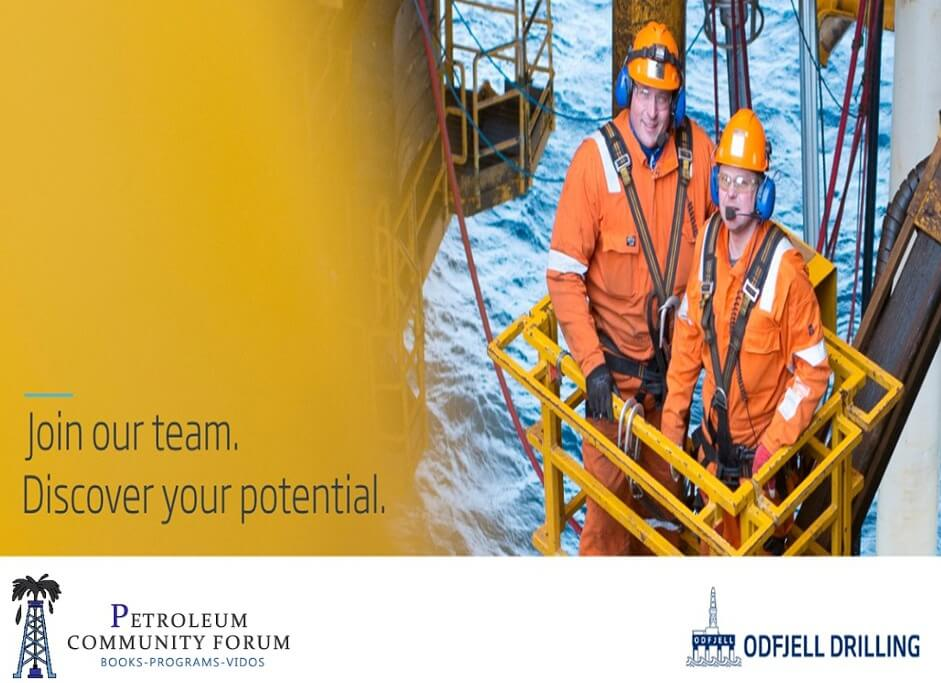Immediate Openings – Full Crew Needed For Odfjell Drilling Company