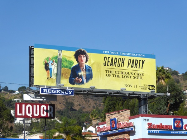 Search Party Curious Case Lost Soul billboard