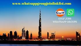 Gulf Jobs WhatsApp Group Join Link List