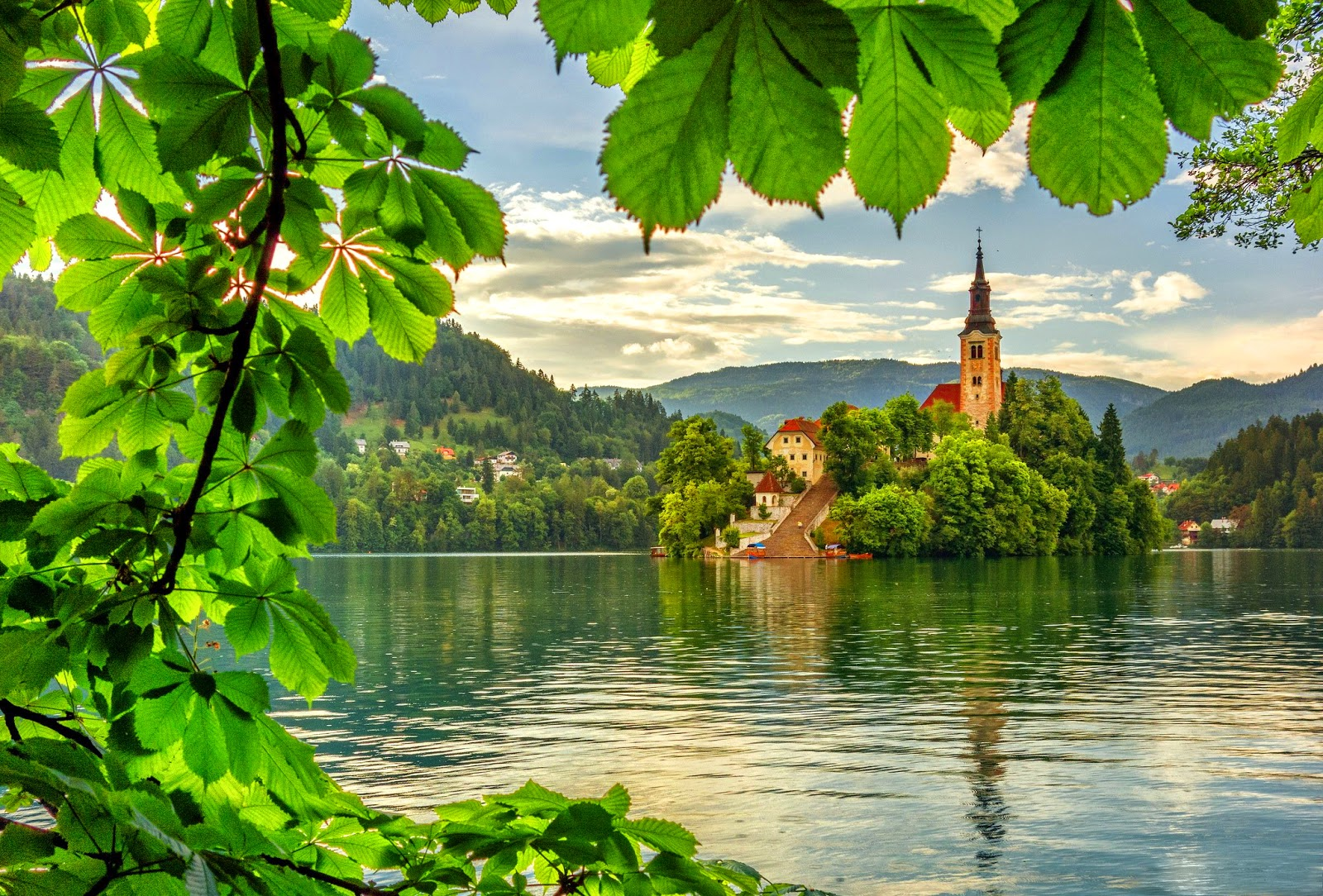 Lake Bled Slovenia Cool Desktop Wallpapers
