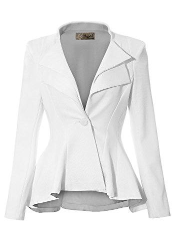 white blazer fashion trend shop