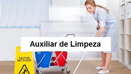 Vaga de Auxiliar de Limpeza - R$ 1.320,00 - Cadastre seu cv