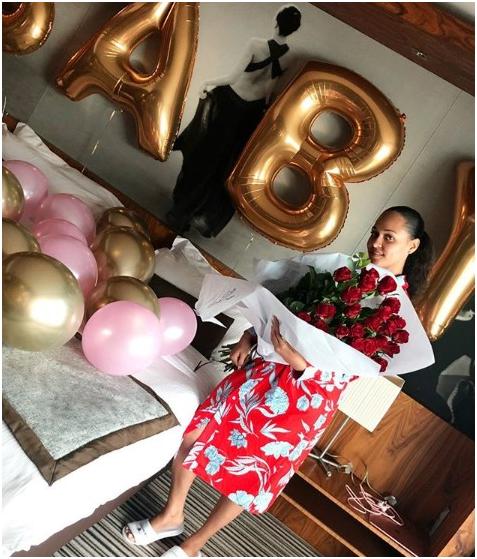 Tania Omotayo Celebrates her birthday today