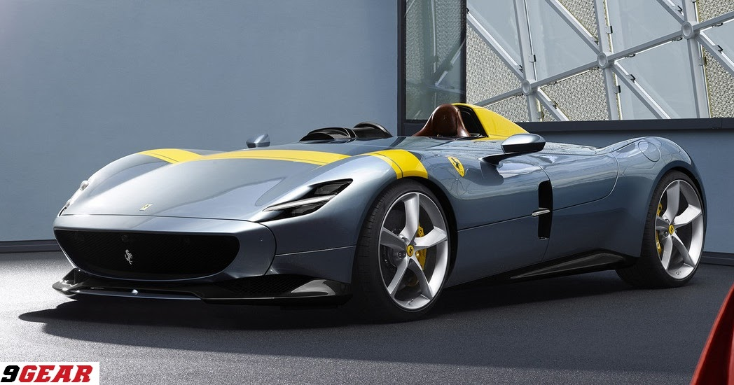 Ferrari Monza SP1 and SP2 limited-edition special-series ...