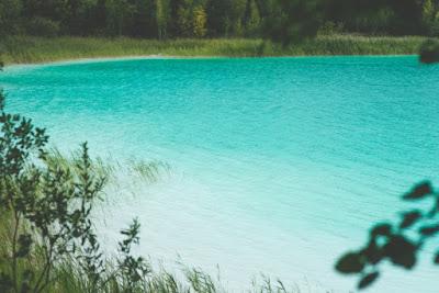 zmarnowane wakacje, kanikuły, plan, jezioro, turkus, Polska jest piękna; źródło: kaboompics