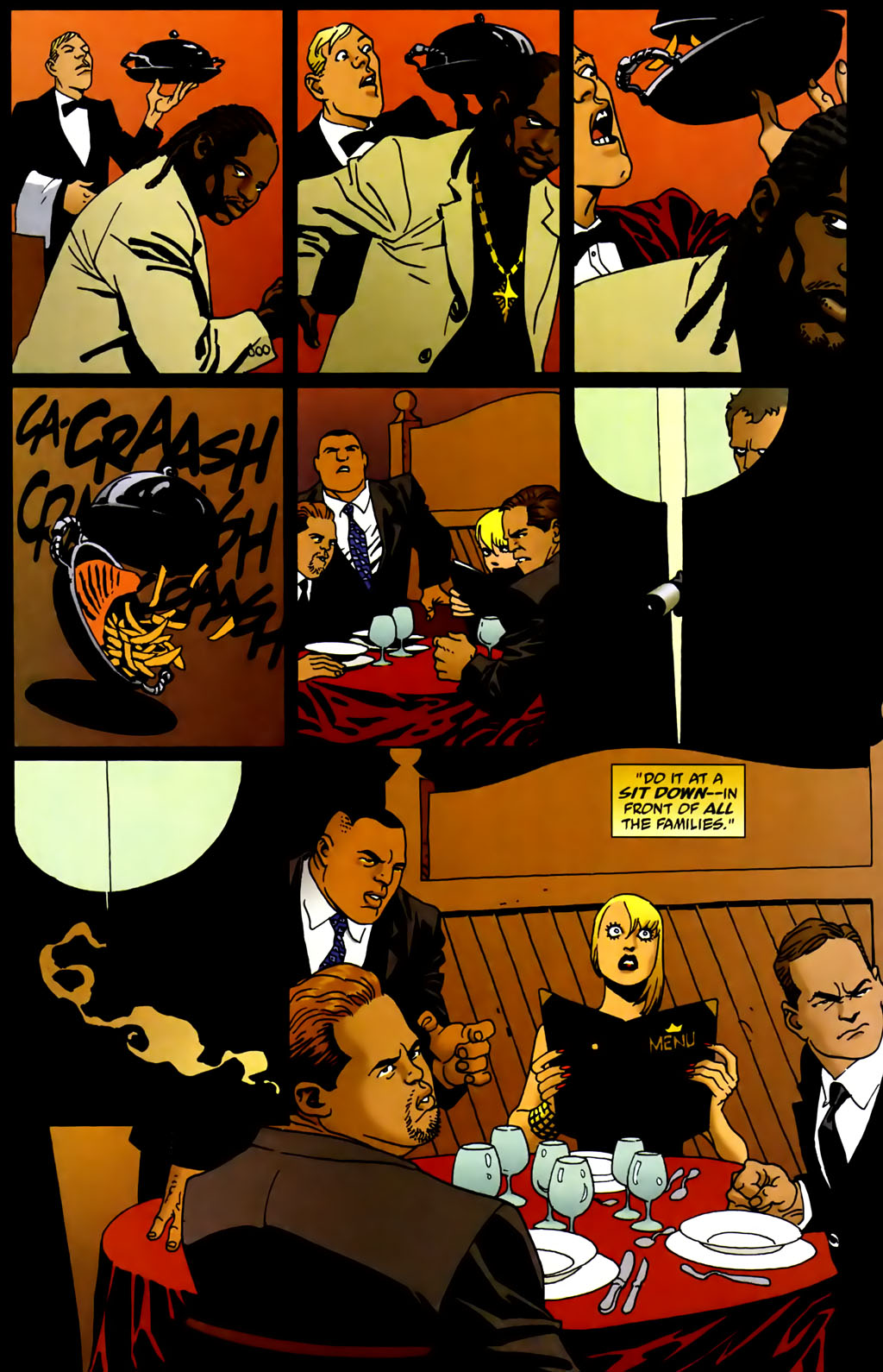 Read online 100 Bullets comic -  Issue #66 - 17