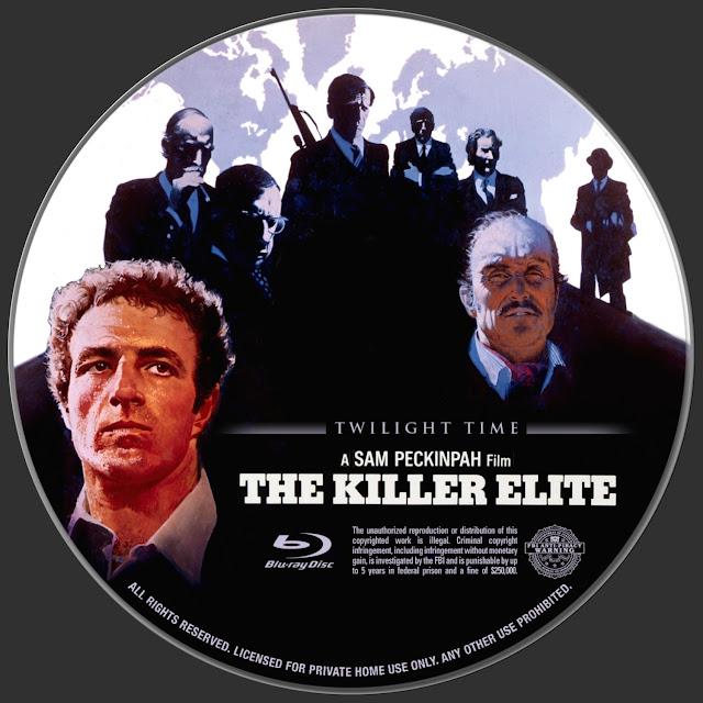 The Killer Elite Bluray Label