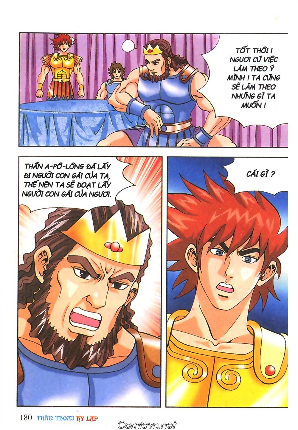 Thần Thoại Hy Lạp Màu - Chapter 56: Hai vị tướng và hai mỹ nữ - Pic 33