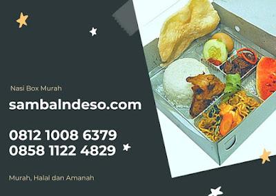 harga Nasi Box Ayam Kecap di Bintaro