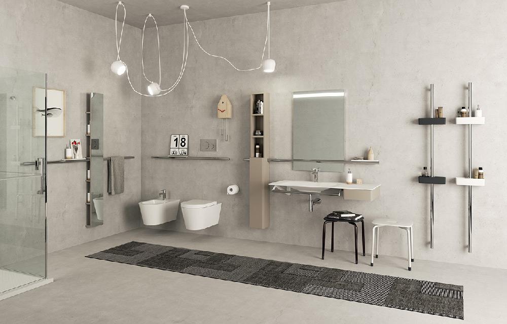 Hug il nuovo sistema d arredo bagno di ponte giulio blog for Nuovo arredo sansepolcro