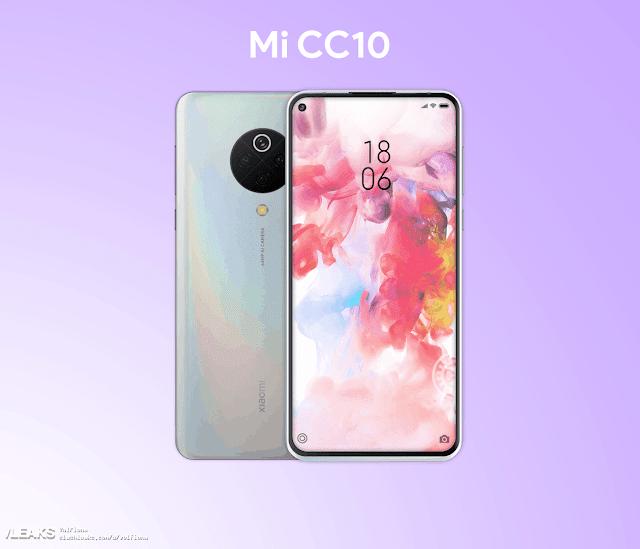مواصفات هاتف  MI CC10