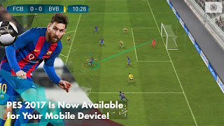 Pro Evolution Soccer 2017 v1.0.1 Apk Data For Android Update Free