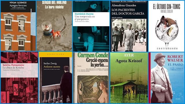 Sergio del Molino, Carmen Conde, Stefan Zweig, Rafael Soler, Vivian Gornick