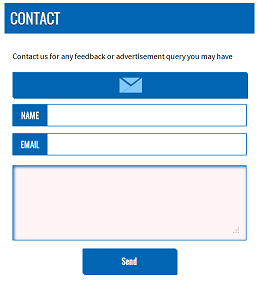 How to add contact form to blog